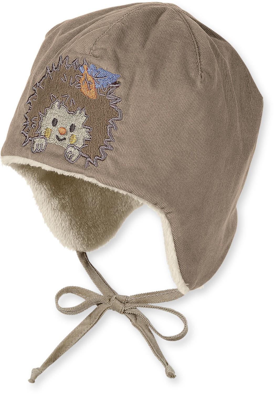 Sterntaler Baby Wintermütze warme Bindemütze aus feinem